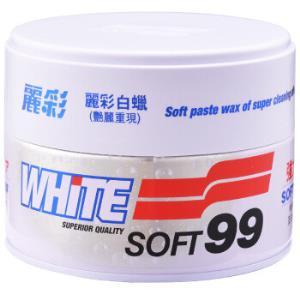 SOFT99丽彩白蜡日本原装进口白色车专用去污亮光蜡*3件+凑单品 69.27元(合23.09元/件)