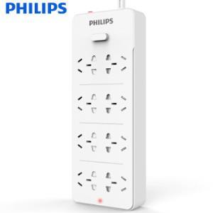 PHILIPS飞利浦插排插线板过载保护3米*3件 90元(需用券,合30元/件)