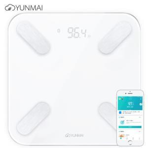 云麦(YUNMAI)好轻mini2T白色智能体脂秤电子秤脂肪秤体重秤24项身体数据 73元(需用券)