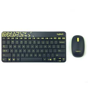罗技(Logitech)无线键鼠套装MK240Nano无线鼠标无线键盘套装(黑色)    89元
