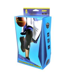 AQ篮球护膝男女专业长款运动健身膝盖防护护具B23511抗冲击强化S101元