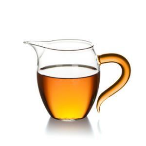 艾芳贝儿(AlfunBel)茶具高硼硅耐热玻璃公杯公道杯匀杯分茶器茶海炫彩琥珀色企鹅公杯(380ML)C-85-20-239元