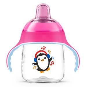 AVENT新安怡SCF753/32企鹅学饮杯粉色260ml*5件132.75元包邮(合26.55元/件)