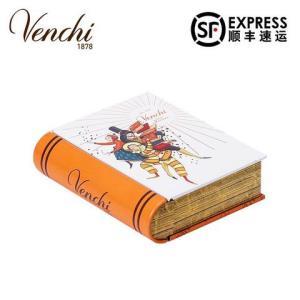 Venchi闻绮进口巧克力礼盒装6颗小铁书礼品生日送女友礼物205元