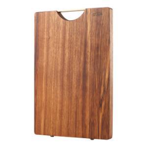 达乐丰金楠木菜板实木砧板切菜板水果板辅食板宝宝板NM002(34*24*2CM) 99元