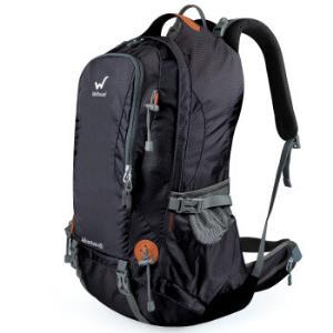 WELLHOUSE户外登山包双肩背包旅行徒步大容量40L经典黑*3件 556.5元(合185.5元/件)