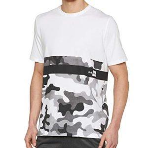 Under Armour 安德玛 男式 迷彩框短袖运动衫84元