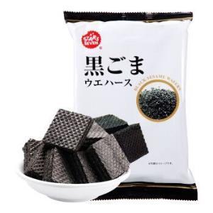 日本进口星七STARSSEVEN黑芝麻威化饼干早餐下午茶休闲食品办公室零食小吃67.5g/袋*2件 26.32元(合13.16元/件)