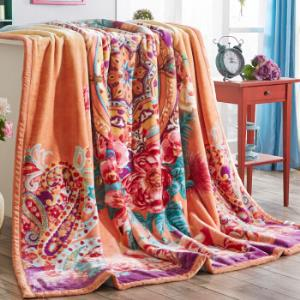 南极人(NanJiren)毛毯拉舍尔毛毯加厚保暖双人秋冬厚毯子被子盖被欧雅7斤2*2.3m99元