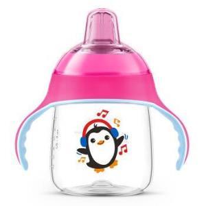 京东PLUS会员、历史低价:AVENT新安怡SCF753/32企鹅学饮杯粉色260ml*4件93.64元(合23.41元/件)