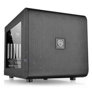 TtCoreV21台式电脑机箱水冷小机箱迷你itx/matx游戏机箱 269元包邮(需用券)