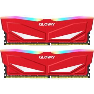 光威(Gloway)16GB(8Gx2)套装DDR43000频率台式机内存条深渊系列-流光炫彩RGB灯条/游戏超频/稳定兼容 599元