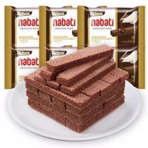 印尼进口纳宝帝丽芝士丽巧克休闲零食巧克力味348g/套*3件 60.7元(合20.23元/件)