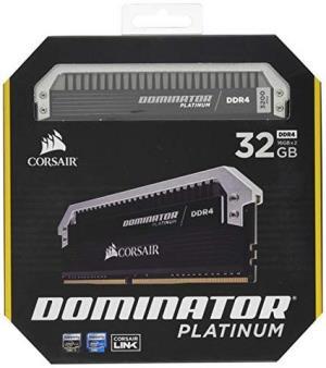 CORSAIRDOMINATORPlatinum统治者铂金32GB(2x16GB)DDR43200(PC4-25600)C16内存-用于Intel100 1492.87元