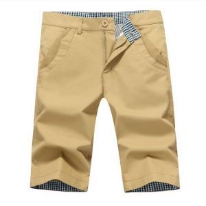 卡郎琪流行夏季五分裤男士短裤薄款修身休闲裤*3件 127元(合42.33元/件)