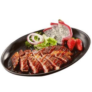赤豪澳洲进口菲力沙朗牛排套餐100g*10袋赠刀叉2副黄油10包黑胡椒酱10包 79元