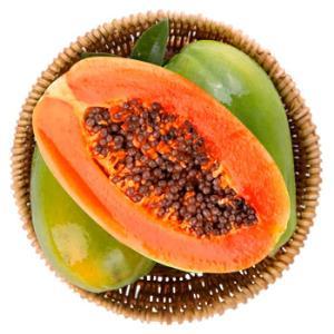 小鸭生鲜海南红心木瓜4-6个4kg 19.9元