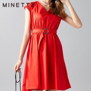 minette30218149926女士无袖收腰连衣裙 109元包邮