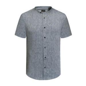 ARMANIEXCHANGE阿玛尼奢侈品男士短袖休闲衬衫3ZZC54-Z1AKZNAVY-2538M 221元