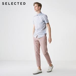 SELECTED思莱德夏S|419204521短袖衬衫男    199.5元