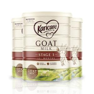 Karicare可瑞康新西兰婴儿羊奶粉3段(1岁以上)900g*3罐装1-3岁830元