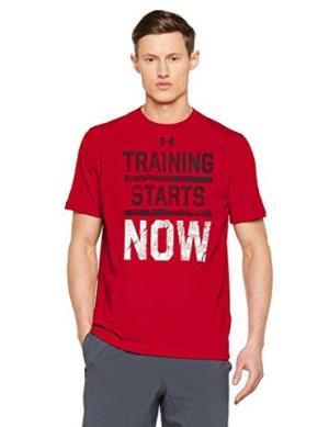 UnderArmour安德玛男式TrainingStartsNow短袖运动衫94元