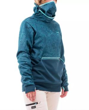 DECATHLON迪卡侬SNBHDYgraphturquoise女式滑雪运动衫99.9元