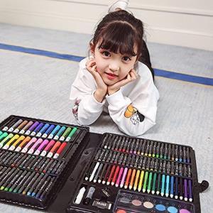 少儿美术画笔套装绘画套盒168件套装99元