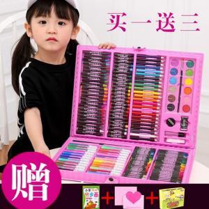 苏漫妮儿童绘画礼盒168件套装38元(需用券)