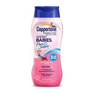 Coppertone确美同水宝宝纯净防晒霜SPF50237ml 69.9元