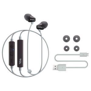 TCLSOCL100BT无线蓝牙耳机入耳式耳塞颈挂式挂脖带麦可通话回声消除手机通用199元