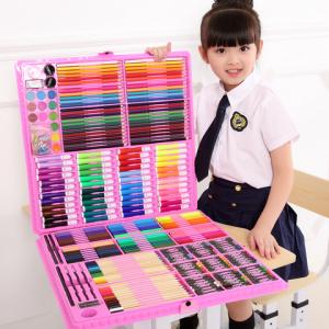 逸倾缘儿童绘画套装150件33元包邮(需用券)