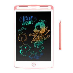 贝恩施(beiens)儿童玩具儿童画板涂鸦板非磁性写字板彩色液晶绘画板8.5寸ZJ03-C粉*3件117元(合39元/件)