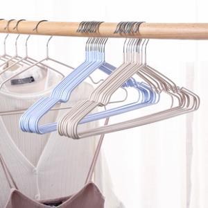 艾夫人 不锈钢成人衣架30支  ¥15