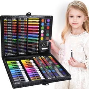 逸倾缘儿童可水洗水彩笔绘画套装168件38元包邮(需用券)