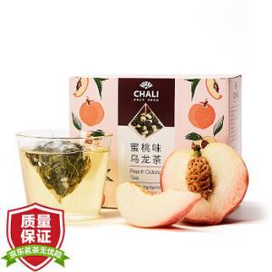 [plus好价]茶里ChaLi茶叶蜜桃乌龙袋泡茶水果茶果粒茶白桃乌龙茶包冷泡茶15包    24.5元