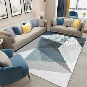 佳佰地毯北欧简约加厚防滑客厅沙发茶几地垫卧室地毯床边毯爬行垫简约三角形-3140*200cm 129元包邮