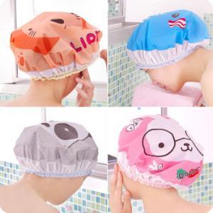 双层多功能防水浴帽 9.9元