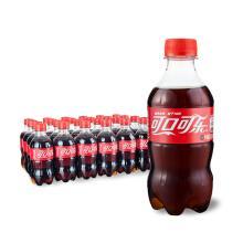 京东商城 Coca-Cola 可口可乐 汽水 碳酸饮料300ml*24瓶 33元(合1.38元/瓶,可凑单包邮)