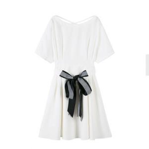Semir森马4300女款雪纺连衣裙 60元