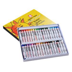 日本SAKURA樱花油画棒12 16 25 36 50色炫彩棒绘画彩色蜡笔正品蜡笔儿童安全无毒少儿美术用品专业油画棒  券后4.2元