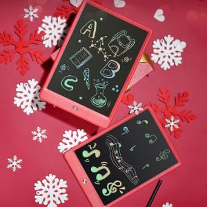 京东京造液晶手写板儿童绘画板涂鸦电子写字板10英寸彩虹笔迹红色礼品装*2件142.2元(合71.1元/件)