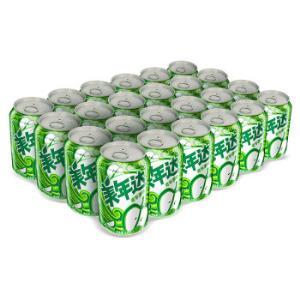 美年达青苹果味碳酸汽水饮料330ml*24罐百事可乐百事出品30.98元