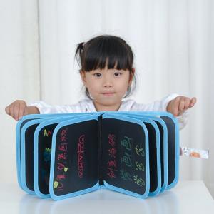 绿色健康儿童早教画册便携式涂鸦画本写字板双面可擦拭亲子绘画本9.9元(需用券)