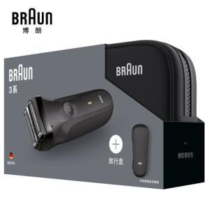 博朗(BRAUN)3系300TS电动剃须刀 (理容装) 299元包邮