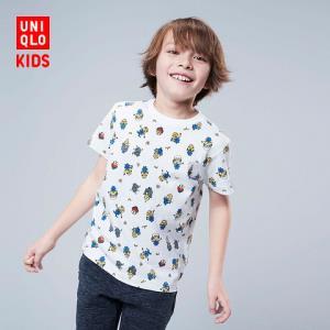 童装/男童/女童(UT)MINIONS印花T恤(短袖)419557优衣库UNIQLO59元