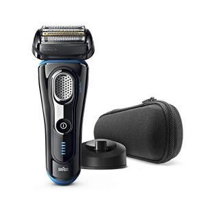 Braun 博朗系列 9 电动剃须刀,带充电站,旅行盒,黑色/蓝色¥1273.05
