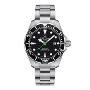 雪铁纳(CERTINA)瑞士手表动能系列钢带自动机械男表C032.407.11.051.02 5270元