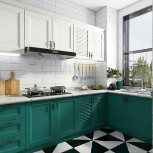 卡贝伯爵整体橱柜现代简约烤漆厨房3米地柜3米台面2米吊柜 6666元