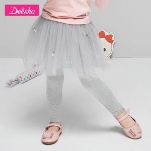 Deesha笛莎女童打底裙裤 43.8元